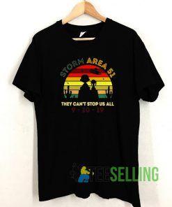 Storm Area 51 T shirt Unisex Adult Size S-3XL