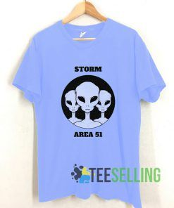 Strom Area 51 T shirt Adult Unisex Size S-3XL