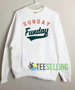 Sunday Funday Art Sweatshirt Unisex