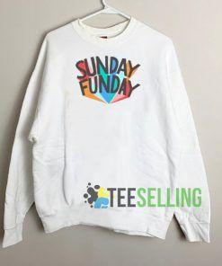 Sunday Funday Colour Sweatshirt Unisex