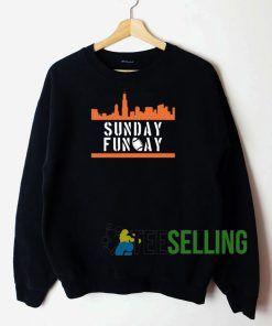 Sunday Funday Men Sweatshirt Unisex