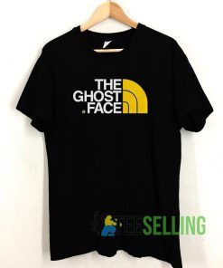 The ghost face T shirt Unisex Adult Size S-3XL