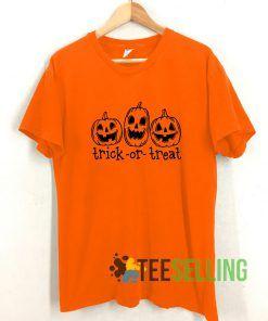 Trick or Treat T shirt Adult Unisex Size S-3XL