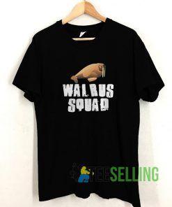 WALRUS Squad T shirt Unisex Adult Size S-3XL