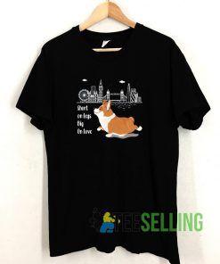 Welsh Corgi T shirt Adult Unisex Size S-3XL