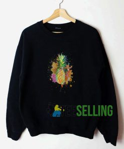 Womens Juicy Pineapples Sweatshirt Unisex
