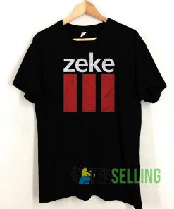 Zeke Logo Box T shirt Unisex Adult Size S-3XL