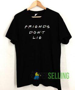friends don't lie vintage T shirt Unisex Adult Size S-3XL