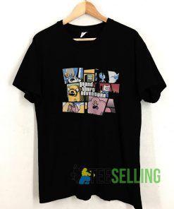 Adventure Time T shirt Adult Unisex Size S-3XL