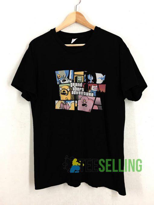 Adventure Time T shirt Adult Unisex Size S 3XL