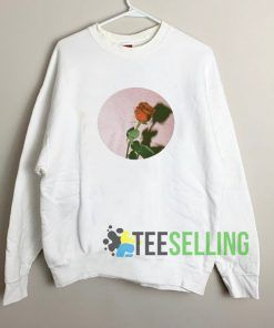 Aesthetic Rose Sweatshirt Unisex