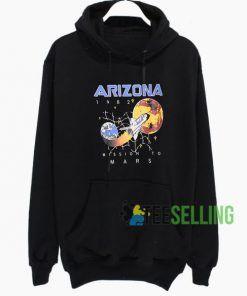 Arizona Mission To Mars Hoodie Adult Unisex