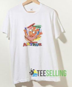 Arthur Cartoon T shirt Adult Unisex Size S-3XL