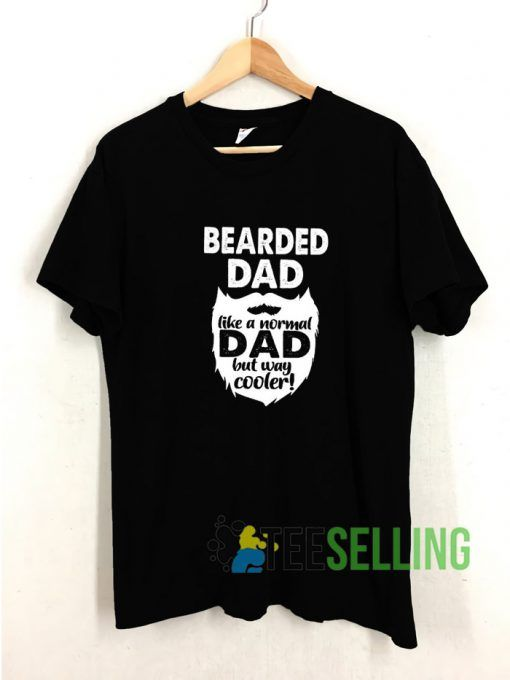 Bearded Dad T shirt Adult Unisex Size S-3XL