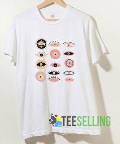 Creepy Eyes T shirt Adult Unisex Size S-3XL