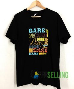 DARE Drug Awareness T shirt Adult Unisex Size S-3XL