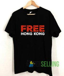 Free Hong Kong Democracy Now T shirt Adult Unisex Size S-3XL