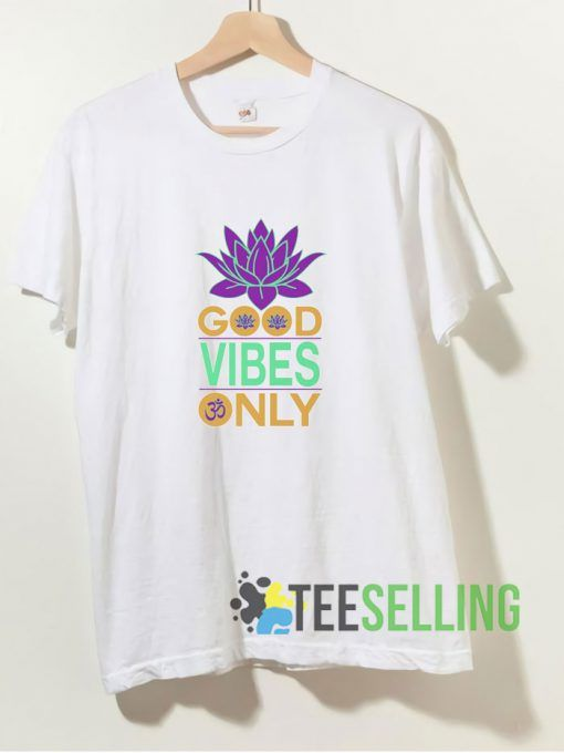 Good Vibes Only T shirt Adult Unisex Size S 3XL