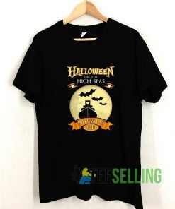 Halloween On The High Seas T shirt Adult Unisex Size S-3XL