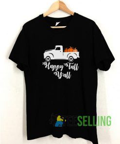 Happy Fall Yall T shirt Adult Unisex Size S-3XL