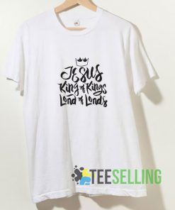 Jesus King Of Lords T shirt Adult Unisex Size S-3XL