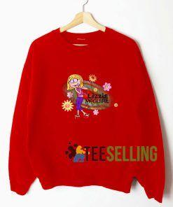 Lizzie Mcguire Red Sweatshirt Unisex