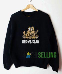 Meowsician Sweatshirt Unisex