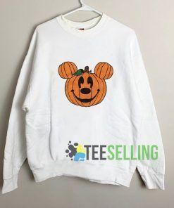 Mickey Jack O Lantern Sweatshirt Unisex