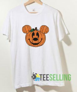 Mickey Jack O Lantern T shirt Adult Unisex Size S-3XL