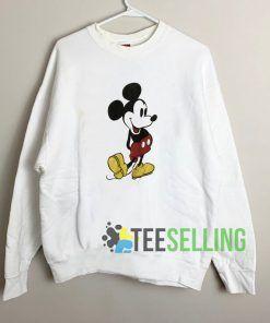 Mickey Mouse Long Sleeve Sweatshirt Unisex