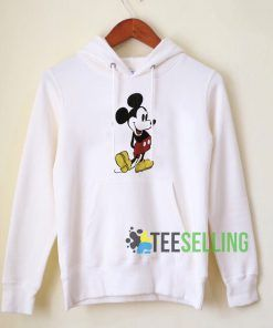 Mickey Mouse Long Sleeve Hoodie Adult Unisex