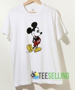 Mickey Mouse Long Sleeve T shirt Adult Unisex Size S-3XL