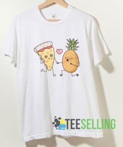 Pineapple Pizza Love T shirt Adult Unisex Size S-3XL