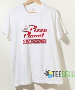 Pizza Planet Delivery Shuttle T shirt Adult Unisex Size S-3XL