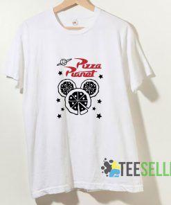 Pizza Planet World T shirt Adult Unisex Size S-3XL