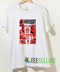 The Incredibles 2 Poster Kids T shirt Adult Unisex Size S-3XL