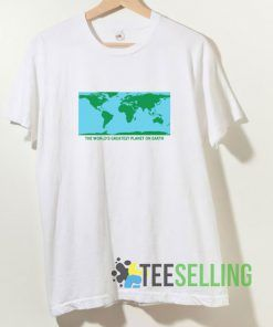 The World's Greatest Planet On Earth T shirt Adult Unisex Size S-3XL