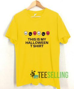 This Is My Halloween T shirt Adult Unisex Size S-3XL