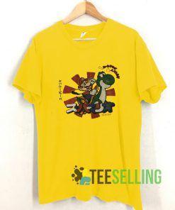 Vintage Mario T shirt Adult Unisex Size S-3XL