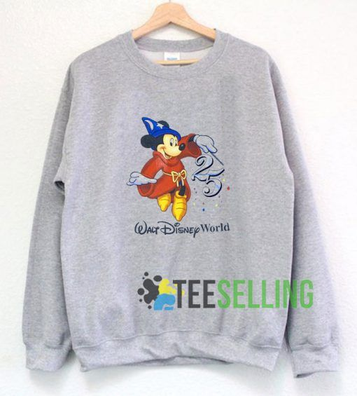 Walt Disney World 25th Sweatshirt Unisex
