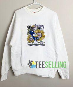 Warner Bros Sunflowers Sweatshirt Unisex