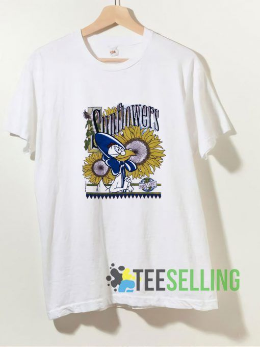 Warner Bros Sunflowers T shirt Adult Unisex Size S-3XL