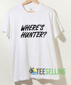 Where Hunter T shirt Adult Unisex Size S-3XL