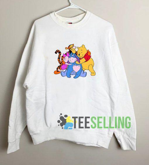 Winnie Pooh Friends Sweatshirt Unisex