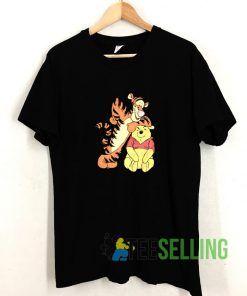 Winnie The Pooh T shirt Adult Unisex Size S-3XL