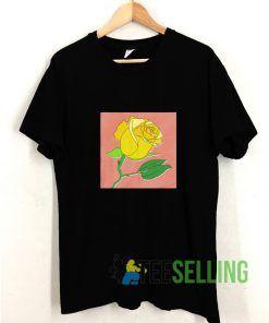 Yellow Rose T shirt Adult Unisex Size S-3XL