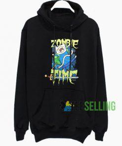 Zombie Time Hoodie Adult Unisex