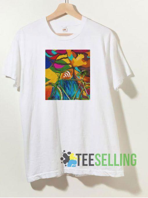 Abstract Art T shirt Adult Unisex Size S 3XL