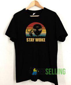 Alien Stay Woke T shirt Adult Unisex Size S-3XL