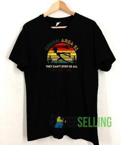 Alien Storm Area 51 T shirt Adult Unisex Size S-3XL